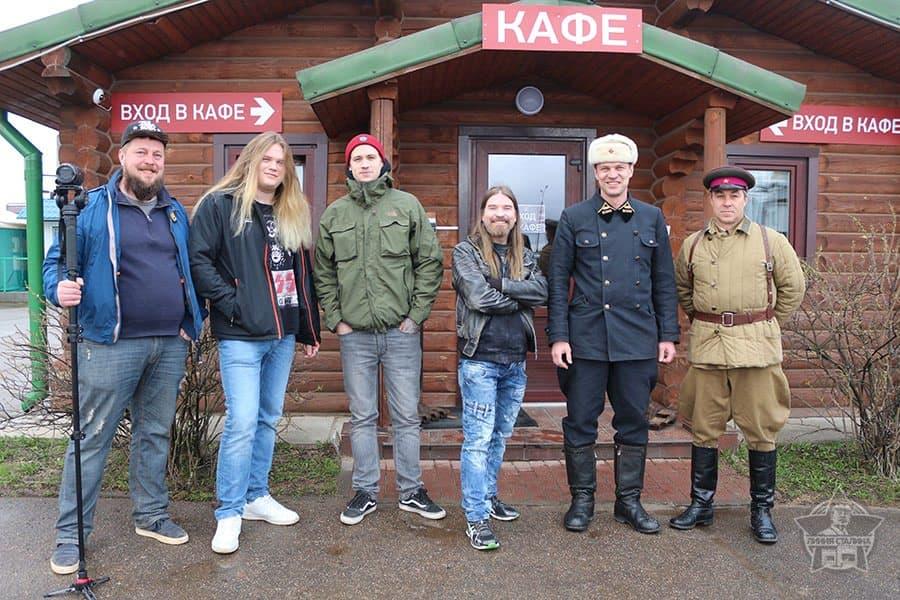 Группа Sabaton на Линии Сталина