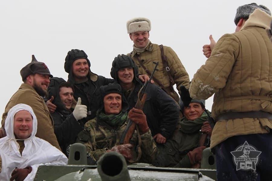"""Дольф Лундгрен на ИКК """"Линия Сталина"""""""