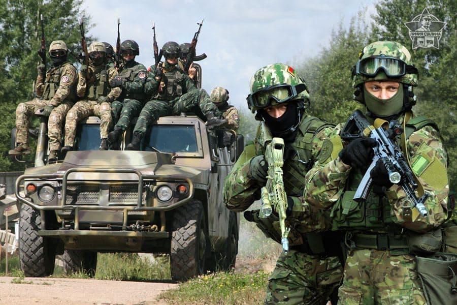 17 марта празднование 100-летия внутренних войск МВД РБ (18 марта)