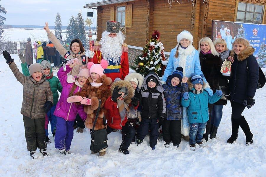 Открытие Резиденции Деда Мороза на ИКК «Линия Сталина»