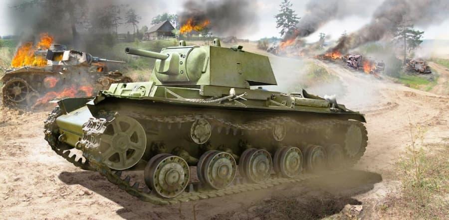 Подвиг танкистов КВ под Расейняем
